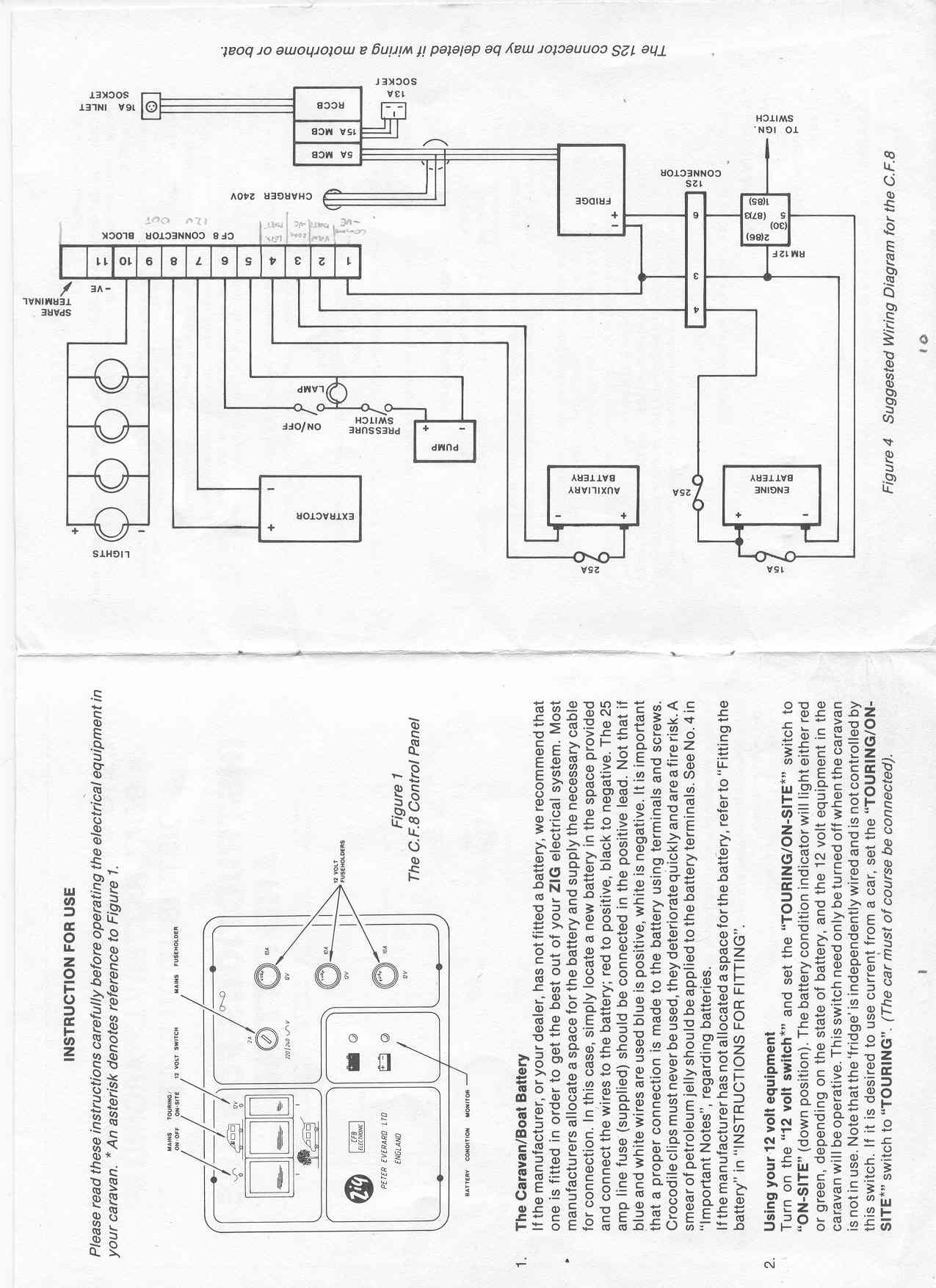 Fiat Peugeot Ducato Motorhome Wiring Diagram Page 1